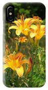 Wild Tiger Lilies IPhone Case