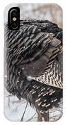 Wild Turkey Not The Whiskey IPhone Case