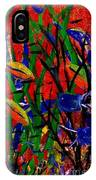 Wild Water In Red IPhone Case