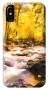 Wild Waterfalls Flowing Through A Forest IPhone Case