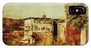 Wild West Australian Barn IPhone Case