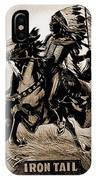 Wild West Poster IPhone Case