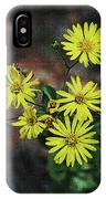 Wild Yellow Flowers IPhone Case