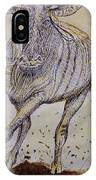 Wildebeest IPhone Case
