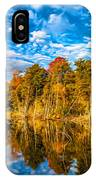 Wilderness Pond - Paint IPhone Case