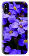 Wildflower Blues IPhone Case