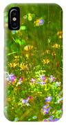 Wildflower Field IPhone Case