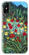Wildflower Garden 1 IPhone Case