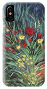 Wildflower Garden 2 IPhone Case