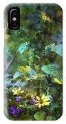 Wildflower Impression 4859 Idp_2 IPhone Case
