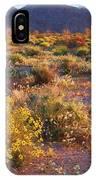 Wildflower Meadow At Joshua Tree National Park IPhone Case