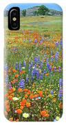 Wildflower Wonderland 4 IPhone Case