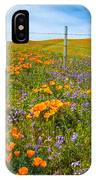 Wildflower Wonders Of The High Desert IPhone Case