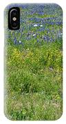 Wildflowers - Blue Horizon Three IPhone Case