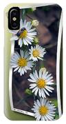 Wildflowers And Visitor IPhone Case