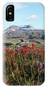 Wildflowers At Mount St Helens IPhone Case