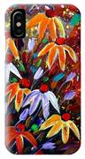 Wildflowers At Sunset IPhone Case