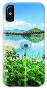 Wildflowers At The Lake In Spring IPhone Case