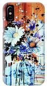 Wildflowers In A Mason Jar IPhone Case