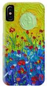 Wildflowers Meadow Sunrise IPhone Case