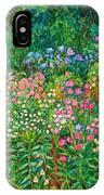 Wildflowers Near Fancy Gap IPhone Case