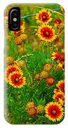 Wildflowers On The Barb IPhone Case