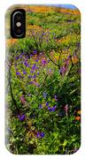 Wildflowerscape IPhone X Case