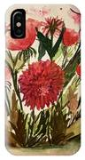 Wildly Red IPhone Case