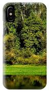 Willamette River Reflections 3813 IPhone Case