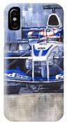 Williams Bmw Fw24 2002 Juan Pablo Montoya IPhone Case