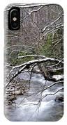 Williams River In Winter IPhone Case