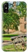 Williamsburg Cannon IPhone Case