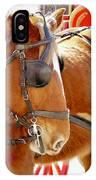 Williamsburg Carriage Horse IPhone Case