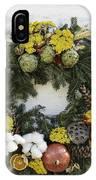 Williamsburg Wreath 09b IPhone Case