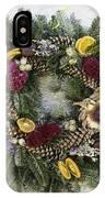 Williamsburg Wreath 10b IPhone Case