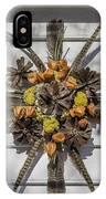 Williamsburg Wreath 23 IPhone Case