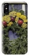 Williamsburg Wreath 25 IPhone Case