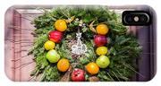 Williamsburg Wreath 53 IPhone Case