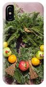 Williamsburg Wreath 54 IPhone Case