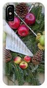 Williamsburg Wreath 87 IPhone Case