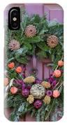 Williamsburg Wreath 92 IPhone Case