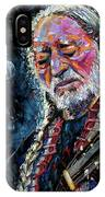 Willie Nelson Portrait IPhone Case