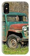 Willys Jeep Pickup Truck IPhone Case