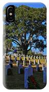 Wilmington National Cemetery Christmas IPhone Case