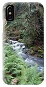 Wilson Creek #14 With Added Cedar Waxwing IPhone Case