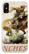 Winchester Horse And Rider  IPhone Case
