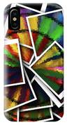 Wind Spinner Collage IPhone Case