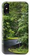 Winding Road Bluestone State Park West Virginia IPhone Case