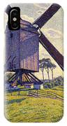Windmill In Flanders IPhone Case