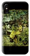 Window - Lady In Garden IPhone Case